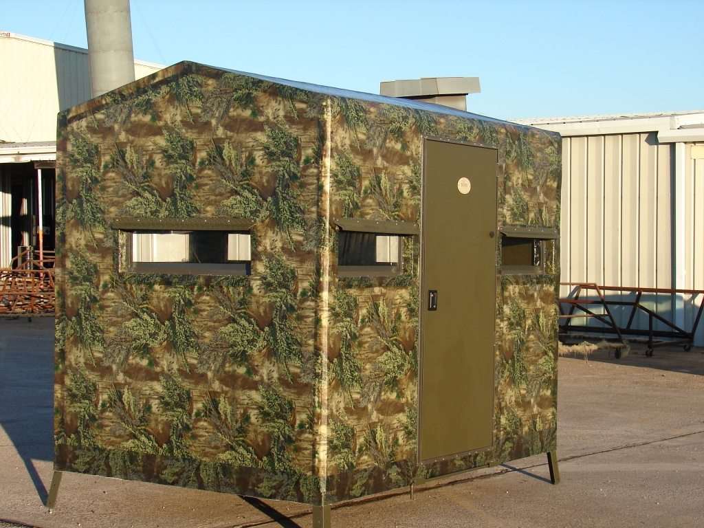 Deer Box Blinds For Sale http://texasaeoutfitters.com/blinds2.htm
